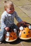 Children's Ride-On Wheelybug Tiger Large